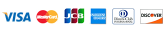 VISA/MasterCard/JCB/American express/Diners Club/Discover